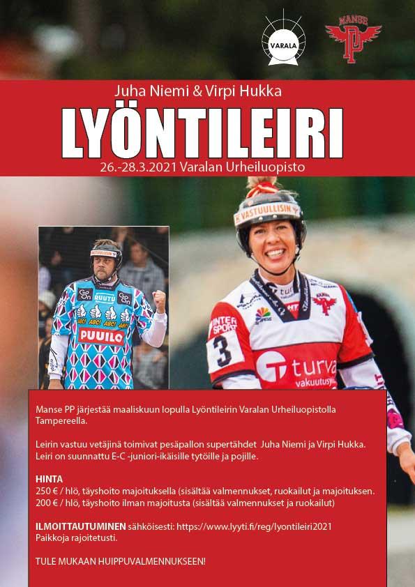 Juha Niemi & Virpi Hukka - Lyontileiri esite